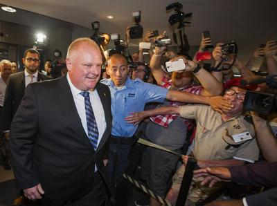 Rob Ford returns