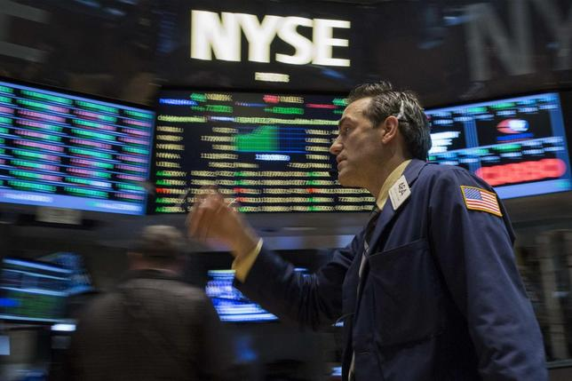 A trader works on the floor of the New York Stock Exchange July 3, 2014. REUTERS/Brendan McDermid