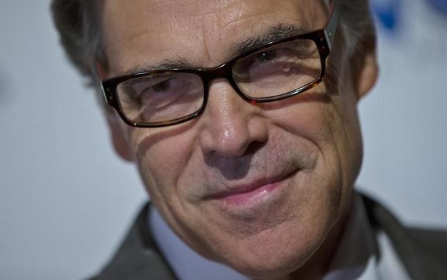 Texas Governor Rick Perry attends the second Annual Champions of Jewish Values International Awards Gala in New York, May 18, 2014.    REUTERS/Mike Segar