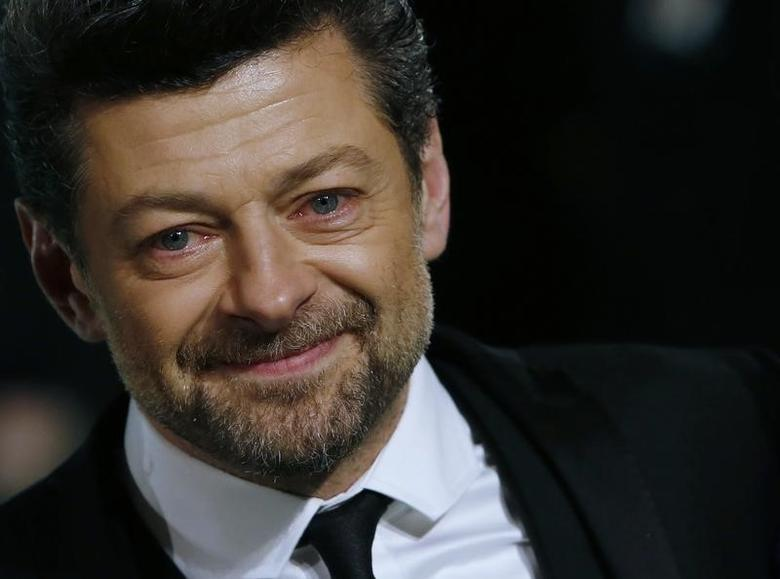 Actor Andy Serkis arrives for the royal premiere of the film ''The Hobbit - An Unexpected Journey'' in central London December 12, 2012  REUTERS/Luke MacGregor/Files