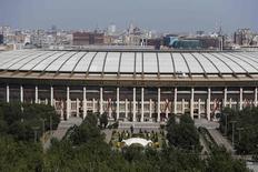 Vista geral do estádio Luzhniki, em Moscou. 14/7/2014  REUTERS/Sergei Karpukhin