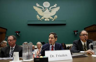 U.S. lawmakers press CDC chief over 'dangerous pattern...