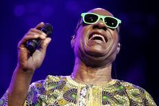 Stevie Wonder em show no festival de Montreux. 16/07/2014 REUTERS/Pierre Albouy