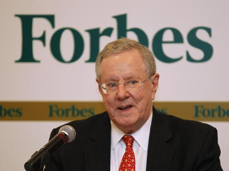 Forbes Media Chairman and Editor-in-Chief Steve Forbes speaks during a news conference before the Forbes Global CEO Conference in Kuala Lumpur September 12, 2011. REUTERS/Bazuki Muhammad