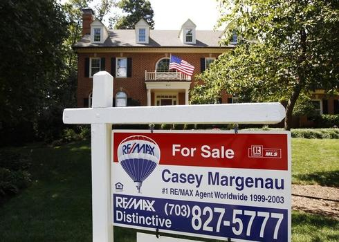 Pace of U.S. home resales rises to eight-month high