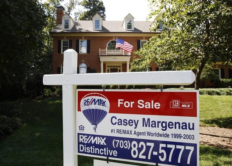A home for sale is seen in Great Falls, Virginia August 23, 2010. REUTERS/Kevin Lamarque