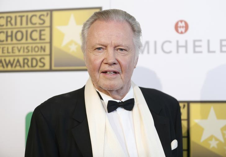 Actor Jon Voight poses at the 4th annual Critics' Choice Television Awards in Beverly Hills, California June 19, 2014. REUTERS/Danny Moloshok