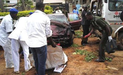 Suicide bombs in Nigeria's Kaduna kill 82, ex-leader...