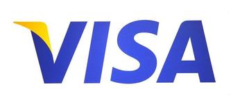 A Visa logo is seen during the International CTIA WIRELESS Conference & Exposition in New Orleans, Louisiana May 9, 2012.  REUTERS/Sean Gardner