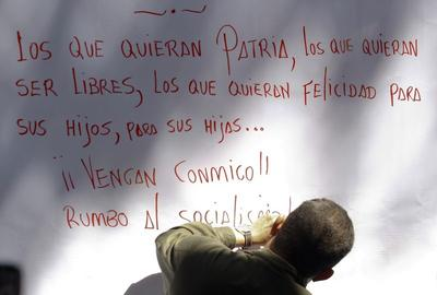 Arial, Times New Roman ... and now the 'Hugo Chavez'...