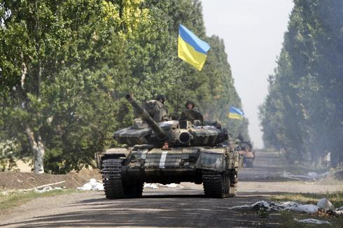 Ukrainian army advances