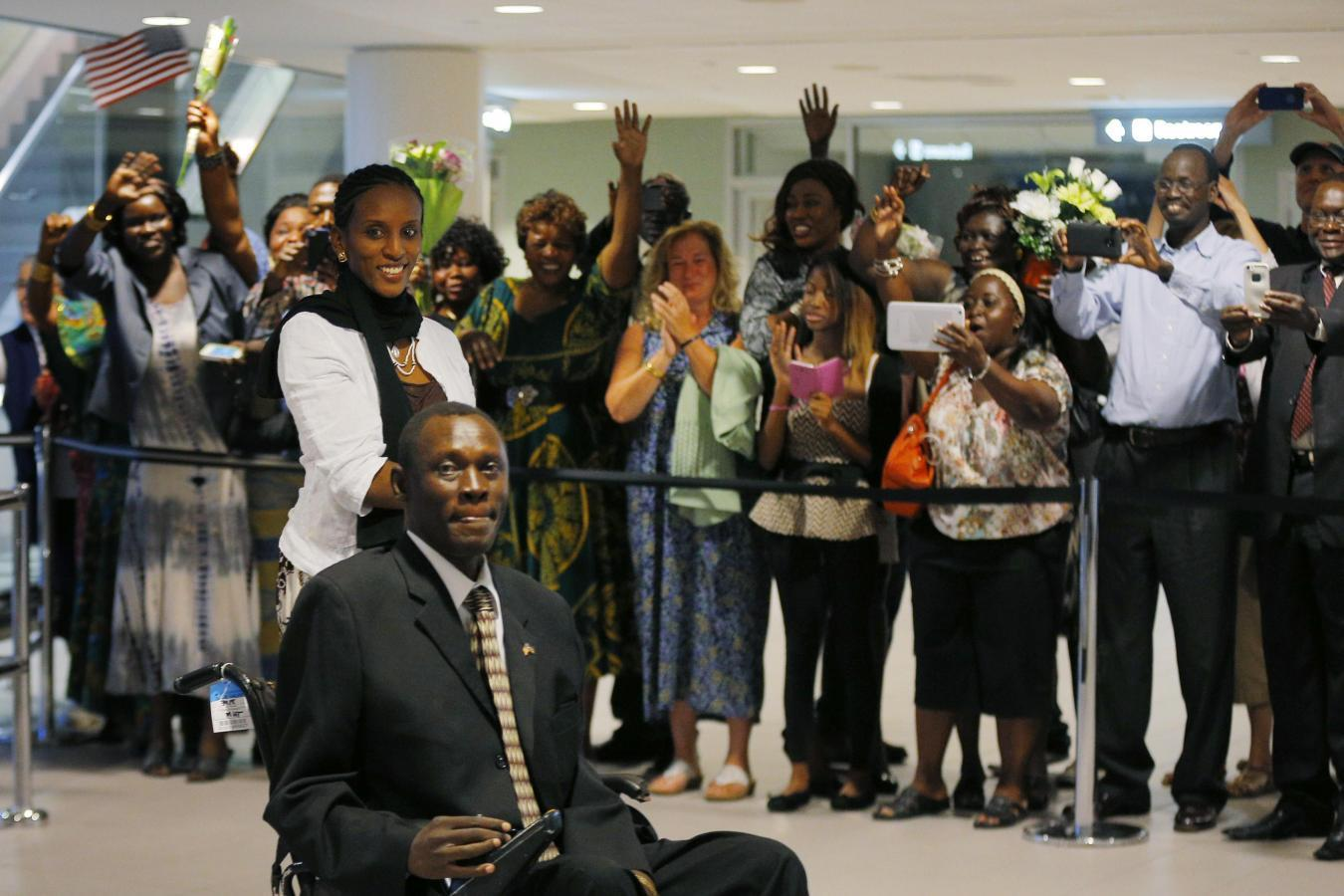 Sudanese woman who had faced execution for conversion arrives in U.S.
