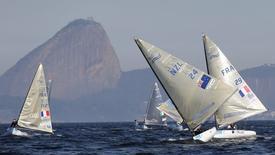 Rio de Janeiro sedia evento-teste de vela no fim de semana como preparação para Olimpíada de 2016.   REUTERS/Sergio Moraes