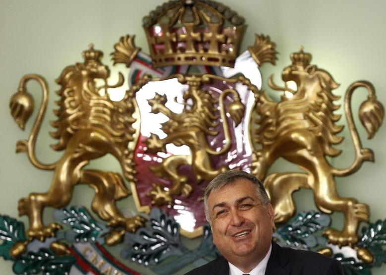 Bulgaria's interim premier Georgi Bliznashki smiles during a ceremony in Sofia August 5, 2014. REUTERS/Stoyan Nenov