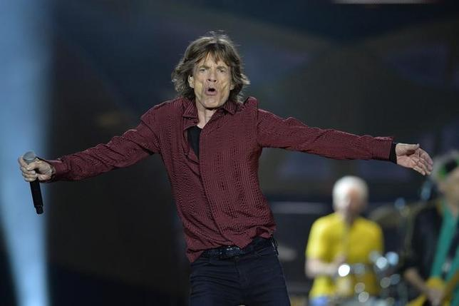 Mick Jagger, frontman of British rock band The Rolling Stones, performs during a concert at the Tele2 arena in Stockholm July 1, 2014. REUTERS/Anders Wiklund/TT News Agency