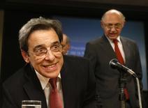 Ministro do Desenvolvimento, Indústria e Comércio, Mário Borges, durante uma coletiva de imprensa em Buenos Aires. 11/06/2014. REUTERS/Enrique Marcarian
