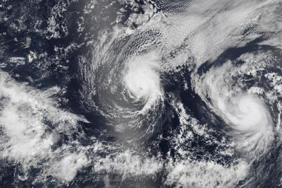 Normally sunny Hawaii braces for hurricane double...