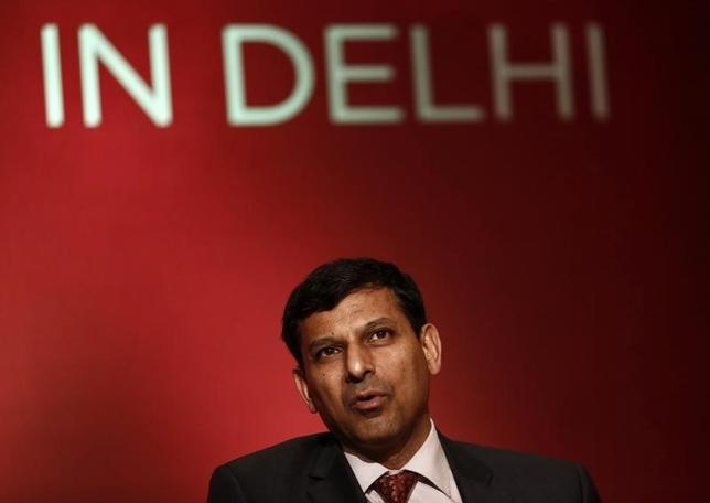 Reserve Bank of India (RBI) Governor Raghuram Rajan attends a seminar organised by the University of Chicago in New Delhi March 28, 2014. REUTERS/Anindito Mukherjee/Files