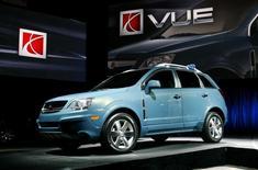 General Motors (GM) a annoncé le rappel de 269.000 véhicules pour réparer une série de défauts, le plus important concernant 202.115 modèles Saturn Vue, affectés par un problème de clef de contact. /Photo d'archives/REUTERS/Max Morse