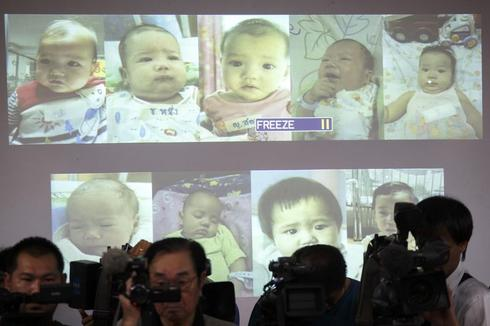 Thailand stops U.S. and Australian couples leaving with surrogate babies: advocate