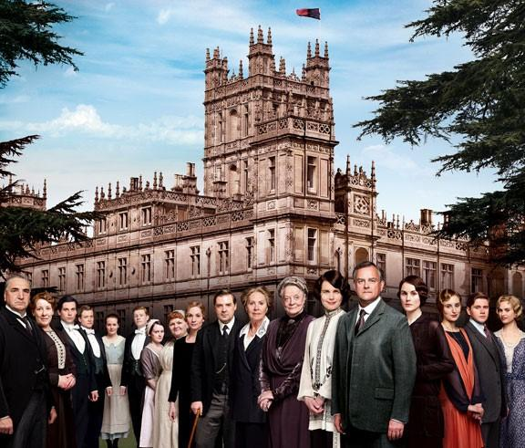 The cast of season 4 of Downton Abbey in an undated photo. REUTERS/PBS