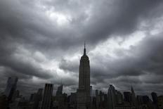 Imagen de archivo del edificio Empire State en Nueva York, jun 13 2013. Las condiciones de negocios para los manufactureros del estado de Nueva York siguieron mejorando en agosto, aunque a un ritmo menor al esperado, mostró el viernes un informe de la Reserva Federal de Nueva York. REUTERS/Lucas Jackson