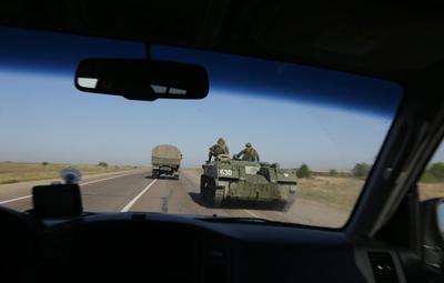 Ukraine says its troops make breakthrough in rebel...