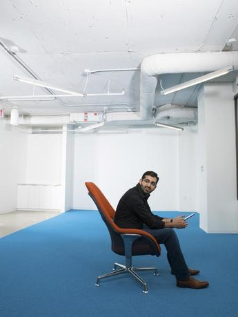 Paul Singh, founder of Disruption Corp., is pictured in Crystal City, Virginia in this 2014 handout photo courtesy of Disruption Corporation obtained by Reuters on August 19, 2014. REUTERS/Vincent Ricardel/Disruption Corporation/Handout via Reuters