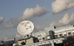 RTL Group, premier diffuseur européen de télévision et de radio, a revu en baisse ses objectifs financiers pour l'année en cours, évoquant notamment une nouvelle taxe sur la publicité en Hongrie qui a pesé sur ses performances du premier semestre. /Photo d'archives/REUTERS/Wolfgang Rattay