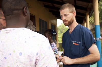 U.S. aid workers who survived Ebola leave Atlanta...