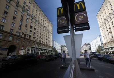 After Russia targets McDonald's, businesses wonder...