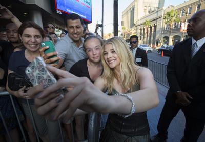 Hollywood selfies