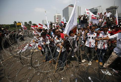 Indonesia election protests