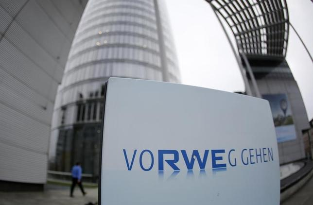 A view of the headquarters of German utility RWE in Essen November 14, 2013.  REUTERS/Ina Fassbender