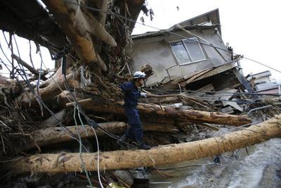 Landslides hit Hiroshima