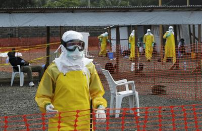 British national contracts Ebola in Sierra Leone
