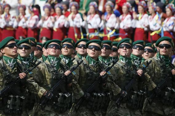 Ukraine Defiant on National Day, Rebels Parade Captives - This is Real War, Just Officially Undeclaired