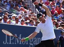 Murray enfrenta Haase no Aberto dos EUA nesta segunda-feira.      REUTERS/Adam Hunger