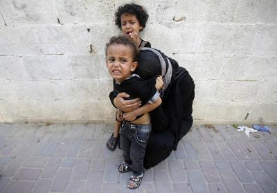 Gaza truce holding but Israel's Netanyahu under fire...
