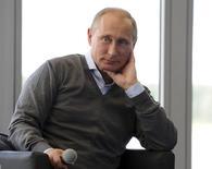 Putin participa de fórum na região de Tver nesta nexta-feira.  REUTERS/Mikhail Klimentyev/RIA Novosti/Kremlin