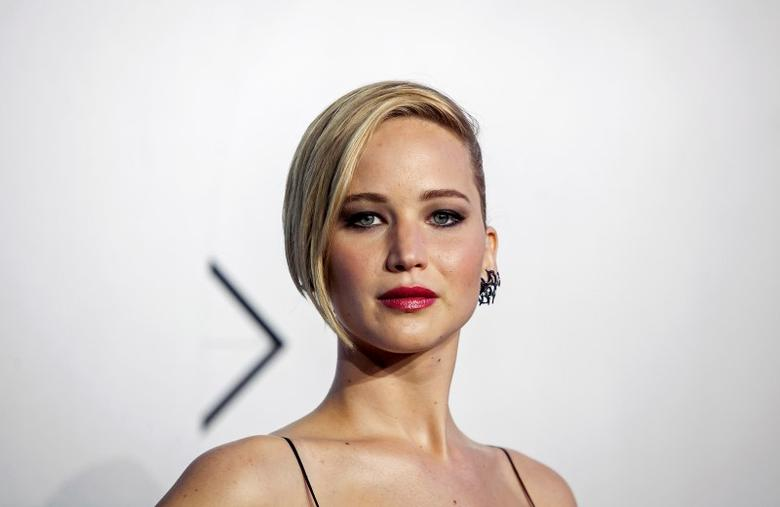 Actress Jennifer Lawrence attends the ''X-Men: Days of Future Past'' world movie premiere in New York May 10, 2014.  REUTERS/Eric Thayer