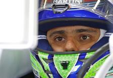 Felipe Massa durante GP da Bélgica em 23 de agosto.  REUTERS/Yves Herman