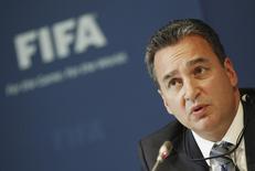 Michael Garcia, membro do Comitê de Ética da Fifa, em Zurique. 27/07/2012 REUTERS/Michael Buholzer