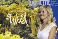 """Atriz Reese Witherspoon ao chegar para coletiva de imprensa para o filme """"Wild"""", no Festival Internacional de Cinema de Toronto, no Canadá. 8/09/2014.  REUTERS/Fred Thornhill"""
