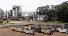 O governo incluirá as indústrias de açúcar e álcool em um programa de restituição de imposto para ajudá-las a compensar custos operacionais mais elevados e o impacto de uma moeda local mais fraca, disse o ministro da Fazenda, Guido Mantega. 21/04/2007 REUTERS/Paulo Whitaker