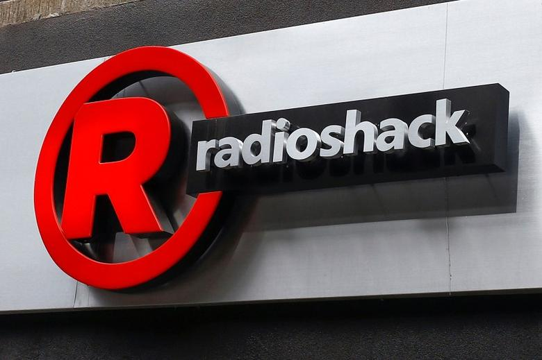 A sign for a RadioShack store is seen in the Brighton Beach section of the Brooklyn borough in New York March 4, 2014. REUTERS/Shannon Stapleton