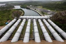 Vista-geral da hidroelétrica de Furnas, em Minas Gerais. 14/01/2013. REUTERS/Paulo Whitaker