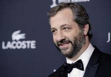 Distinguished Collaborator Service Honoree Judd Apatow arrives for the 16th Costume Designers Guild Awards in Beverly Hills, California February 22, 2014. REUTERS/Kevork Djansezian