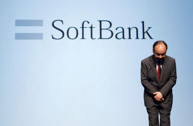 SoftBank Corp. Chief Executive Masayoshi Son attends a news conference in Tokyo August 8, 2014.  REUTERS/Yuya Shino