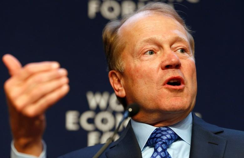 John T. Chambers, Chairman and Chief Executive Officer of Cisco, speaks during a session at the annual meeting of the World Economic Forum (WEF) in Davos January 22, 2014.         REUTERS/Ruben Sprich